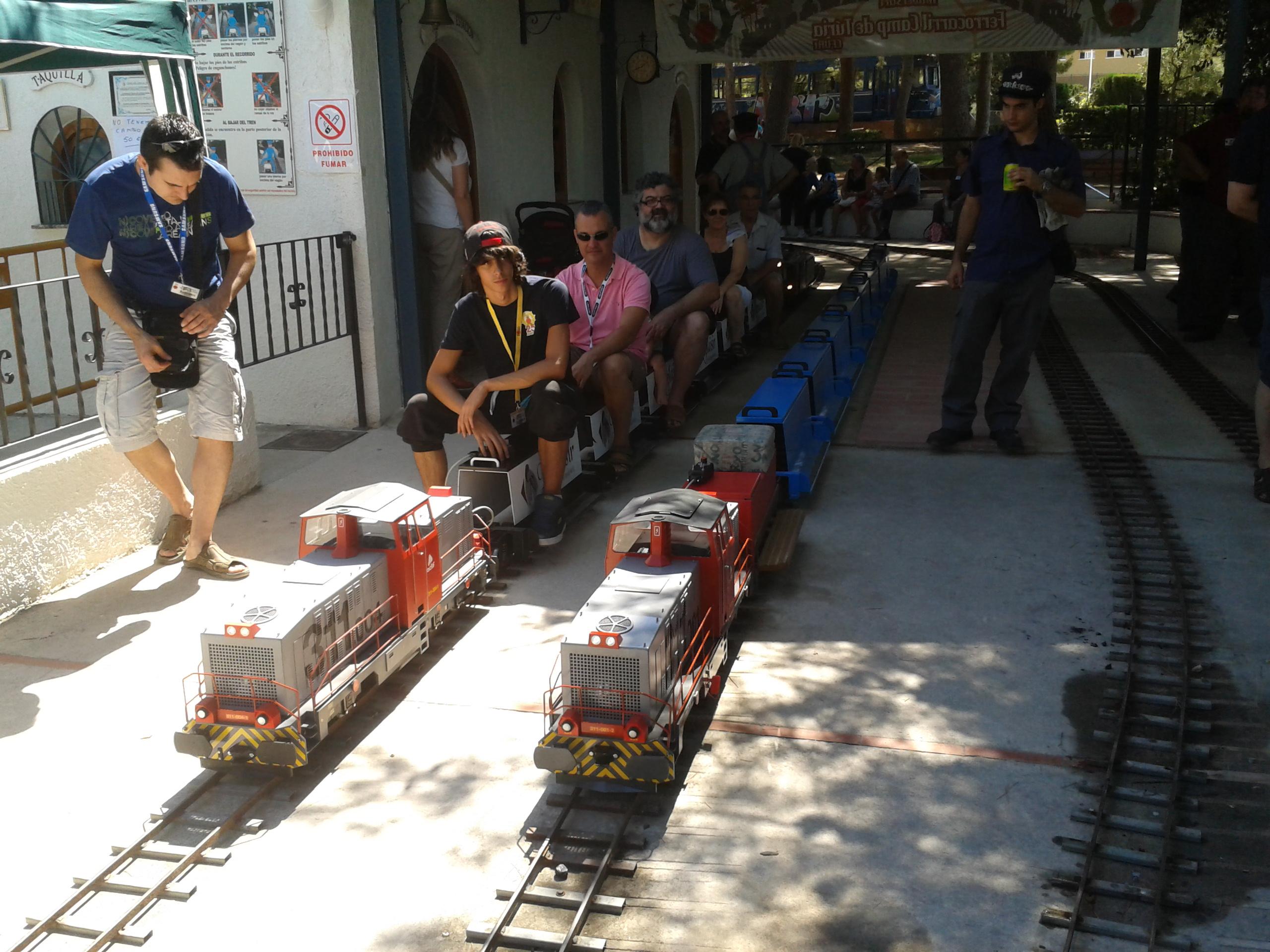 Trenes tripulados de 5 pulgadas. Nuestra historia