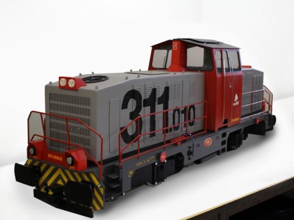 Locomotive 311.